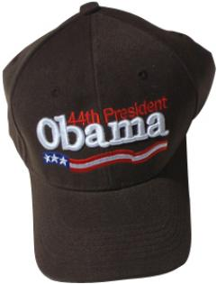 Brown 44th President Obama Baseball Cap