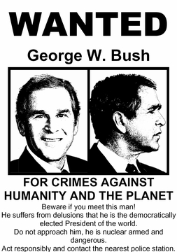 Bush Wanted T-Shirt