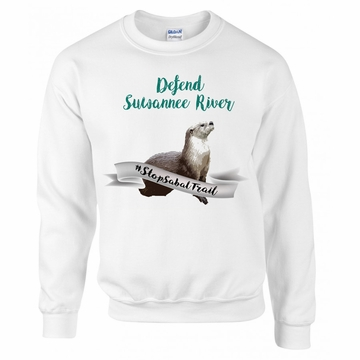 Defend Suwanee River Otter Guardian Sweater