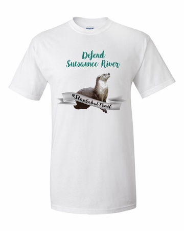 Defend Suwanee River Otter Guardian T-Shirt