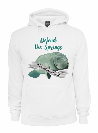 Defend the Springs Manatee Guardian Hoodie