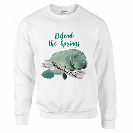 Defend the Springs Manatee Guardian Sweater