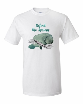 Defend the Springs Manatee Guardian T-Shirt