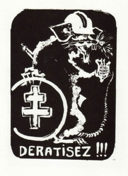 Deratisez - Paris May 1968 Street Poster Available in 2 sizes!