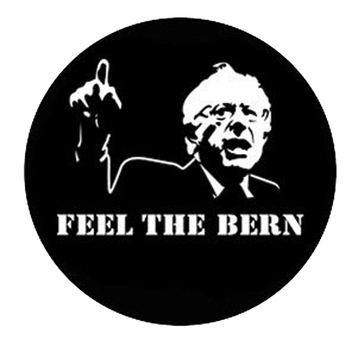 New! Feel The Bern Button - Available in 3 Sizes!