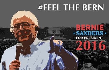 #Feel the Bern T-shirt