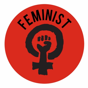 Feminist Symbol Magnet<br> Pick Your Color!