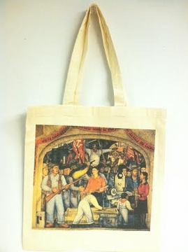Frida Khalo by Diego Rivera Tote Bag