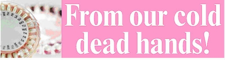 From Our Cold Dead Hands Bumper Sticker