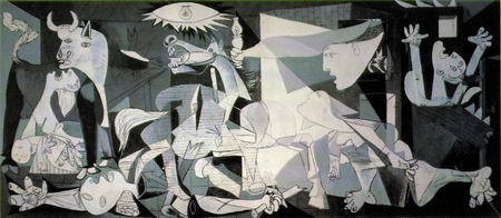 Guernica Poster 11 X 17""