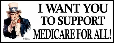 HEALTHCARE REFORM BUMPERSTICKERS