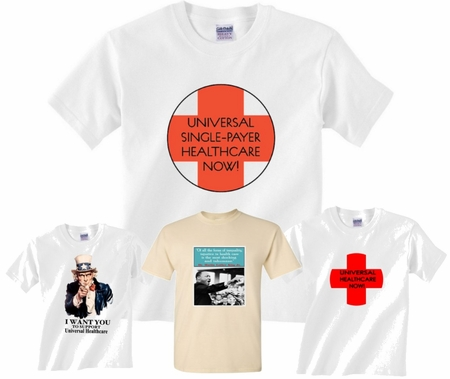 HEALTHCARE REFORM T-SHIRTS