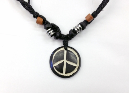Hemp Peace Necklace