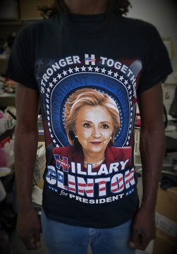 Hillary Clinton for President! Stronger Together! T-Shirt