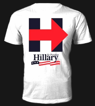 Hillary Clinton For President T-Shirt As Low As $7.50 Each!