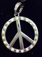 Hip Hop Peace Pendant