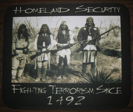 Homeland Security Mouse Pad