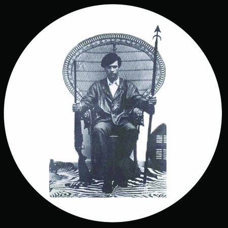 Huey P Newton Sitting Button