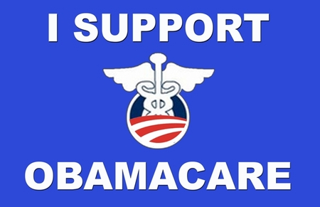 I Support Obamacare T-Shirt