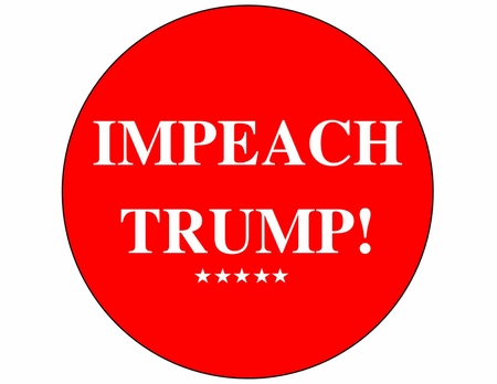Impeach Trump Red button