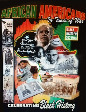 New 2018 Black History T-shirt African Americans In Times Of War
