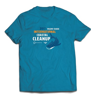 International Coastal Cleanup Day Miami-Dade T-Shirt
