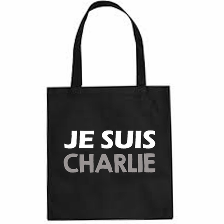 JE SUIS CHARLIE Tote Bag - Show Your Solidarity!