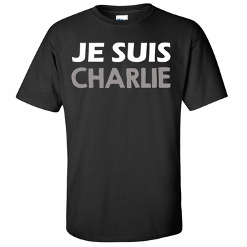 JE SUIS CHARLIE Shirt - Show Your Solidarity!
