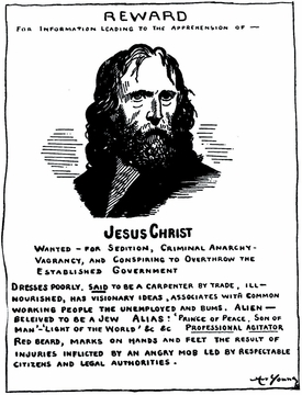 Jesus Wanted Poster