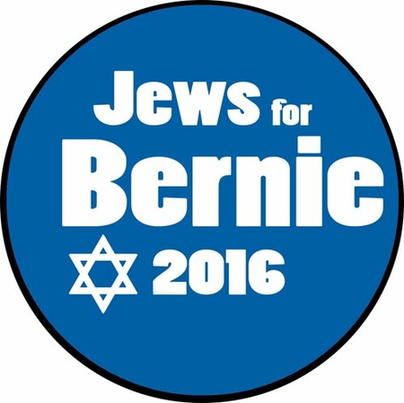 Jews for Bernie Button