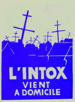 L'Intox Vent a Domicile - Paris May 1968 Street Poster Available in 2 sizes!