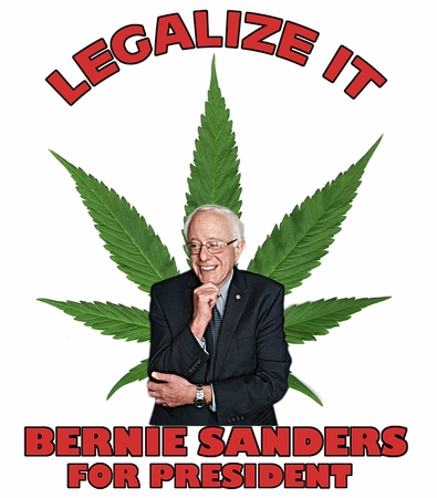 Legalize It! Bernie Sanders For President T-Shirt