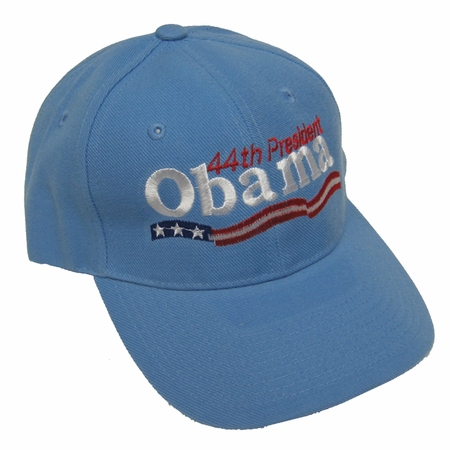 Light Blue 44th President Obama Baseball Cap