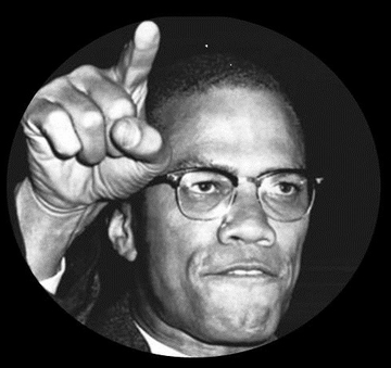Malcolm X Button
