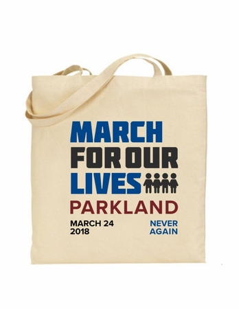 March 4 Our Lives Parkland Tote Bag