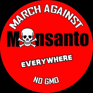 March Against Monsanto Button
