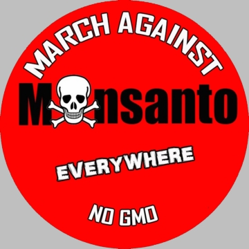 March Against Monsanto Button - Available in 3 Sizes!
