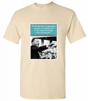 Martin Luther King Healthcare T-Shirt