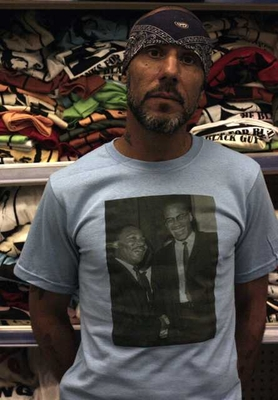 Martin Luther King & Malcom X Photo T-Shirt
