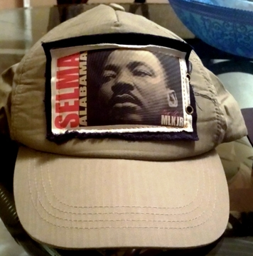 Martin Luther King Selma Khaki Base Cap - Adjustable, One Size Fits All!