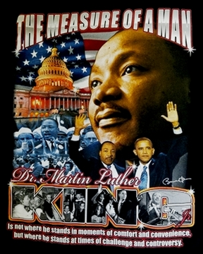 Martin Luther King T Shirts Buttons Tote Bags