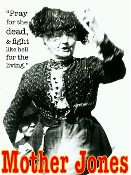 Mother Jones Poster