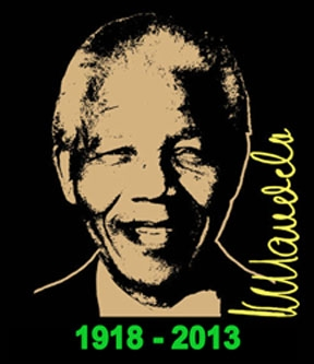 oNelson Mandela Signature Memorial Shirt Only $6!