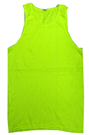 Neon Yellow Tank Tops