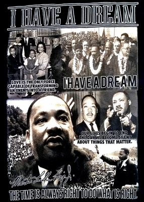 """One Dream Can Change The World"" MLK/Obama T-shirt!"