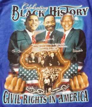 Celebrating Black History:Civil Rights In America Children's T-Shirt - Two Sided!