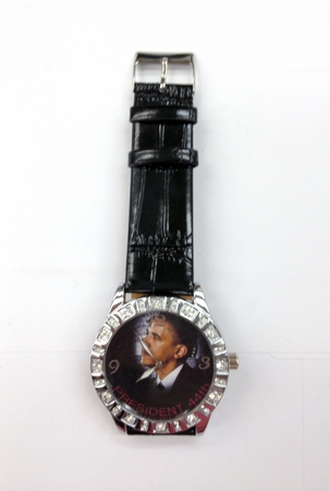 New! Obama 44th President Watch Only $18!