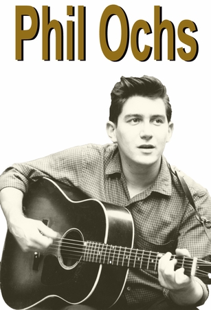 New! Phil Ochs T-Shirt