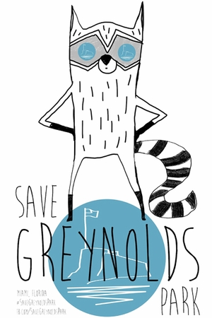New Save Greynolds Park Posters