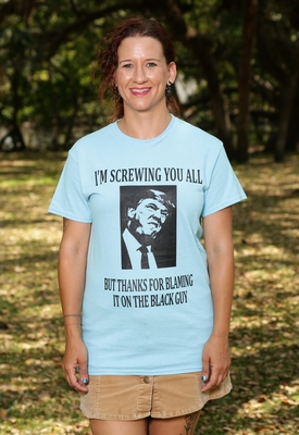 Thanks For Blaming The Black Guy Anti Trump T-Shirt As Low As $7!